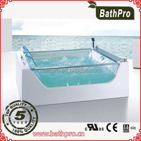 2015 new product outdoor modern whirlpool massage bathtub(R8713)
