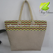 printing paper straw jute beach bags shopping bags handmade nature wholesales cheap
