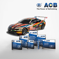 Clear coat for car 2k top color paints -ACB clear coat