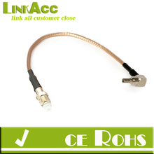 LINKACC-SM11 15CM FME Jack to CRC9 plug RA Pigtail COAXIAL Cable RG316