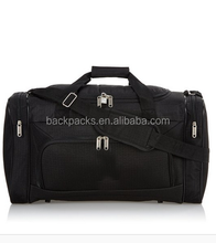 32L black Carry On Lightweight Large Duffle Sports/Gym Bag with Shoulder Straps