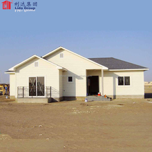 China Luxury prefab light steel villa for sale