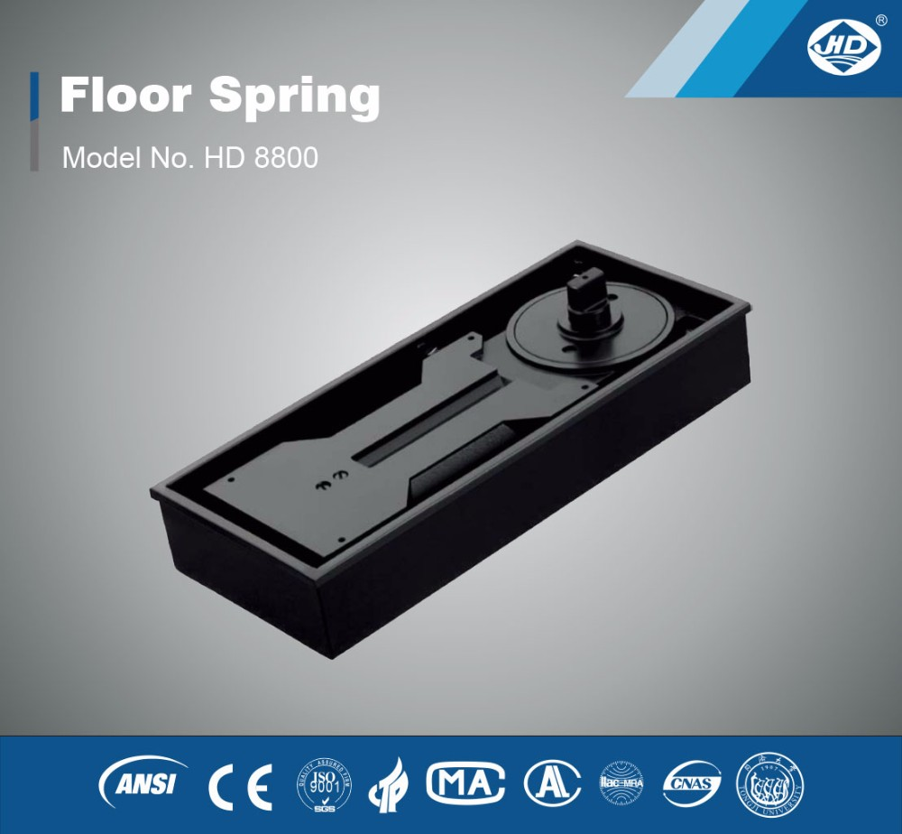 Hydraulic Heavy Duty Door Closer Floor Spring For 400kg Doors HD 8800