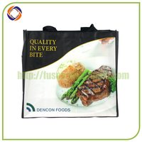 the newest promotional strawberry foldable shopping bag