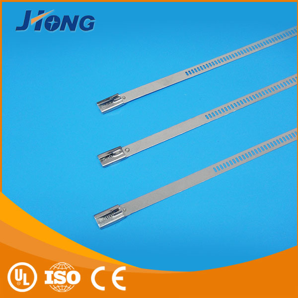 fasteners with elastic textile numbered ladder type stainless steel cable tie with Multi Lock Type