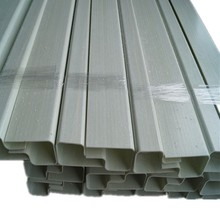 Fire resistant Fiberglass Profiles FRP Tubes GRP Poles Pultruded for truck