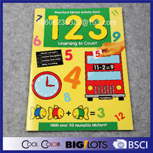 learning to count education book printing