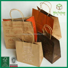 Japanese kraft paper bag/paper bags manufacturers in Shanghai