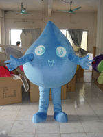 drop water mascot costume
