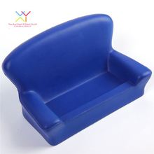Promotional custom sofa shape stress ball, chair cell phone holder stress ball
