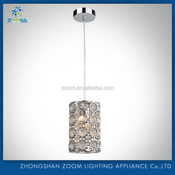 Hot sell mini crystal pendant lamp with best low price for hot selling