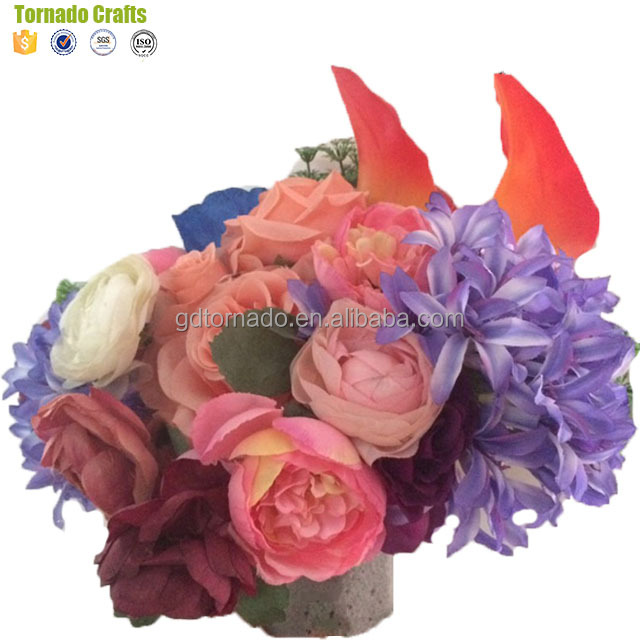 Wholesale artificial flowers weight online buy best artificial zhen xin qi crafts fabric strongflowerstrong craft supplies decoration mightylinksfo