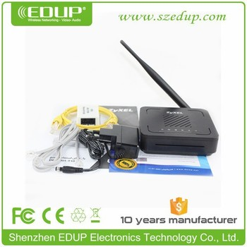 802.11n Zyxel 150Mbps ADSL Modem Router with 5dBi Detachable Antenna with Good Price