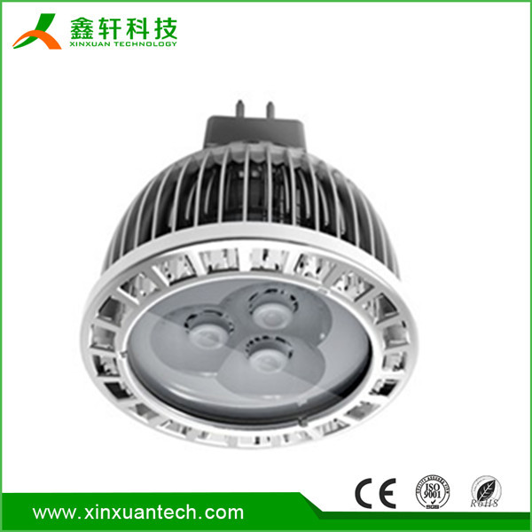 Aluminum puck light under cabinet Aluminum mini led light mr 16 3w led pin spot light for shop