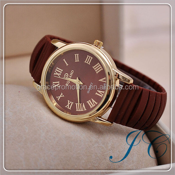 2015 Hot Sale Fashion Attractive Silicon Watch With Cheaper Wholesale