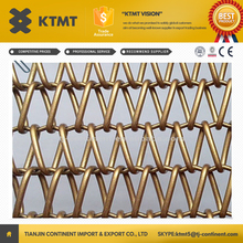 Metal Coil Curtain Drapery/Decorative Metal Wire Mesh Curtain for Metal Screen Decoration
