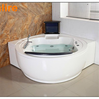 china factory whirlpool bathtub with tv massage