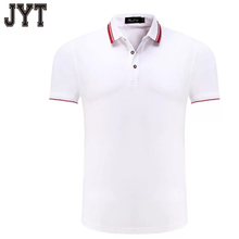 2017 new design customized golf white polo t shirt stand collar custom polo shirt with embroidered