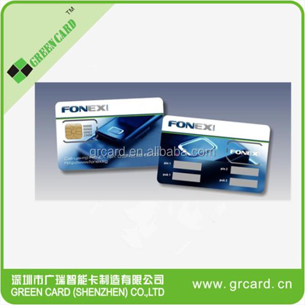 CDMA UIM blank card for CDMA network mobile