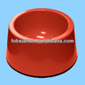 New Best Selling Fancy Engraved Red Ceramic Dog Bowl