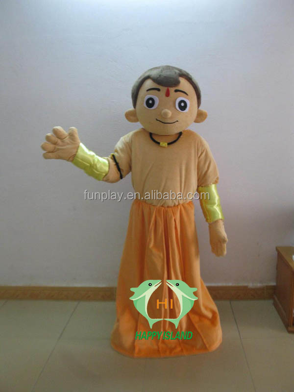 HI CE chota bheem professional cartoon character costume