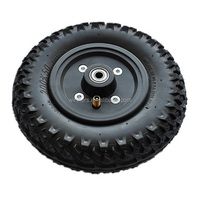 200x50mm small plastic hub pneumatic wheel