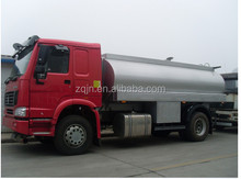 China Best Brand Sinotruk 4x2 Mini Oil Fuel Tanker Truck Fuel Oil Delivery Trucks For Sale