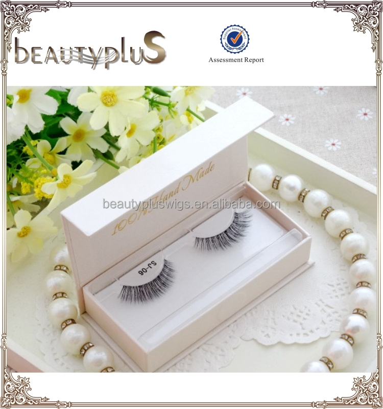 Manufacturer Wholesale 100% 3D handmade mink eye lashes