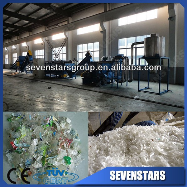 World Famous Brand Waste Used PE PP Film PET Bottle Plastic Washing Line Recycling Machine Plant Production Line
