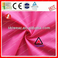 eco-friendly fireproof 210t taffeta coating fabric factory