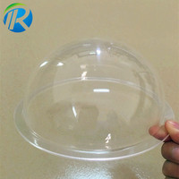 High quality Diameter 5mm Inches Acrylic Surveillance CCTV Optical Dome Covers fresnel lens