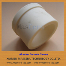 99% Alumina Al2O3 Ceramic Parts Liners Sleeves Housings for Vacuum Furnace