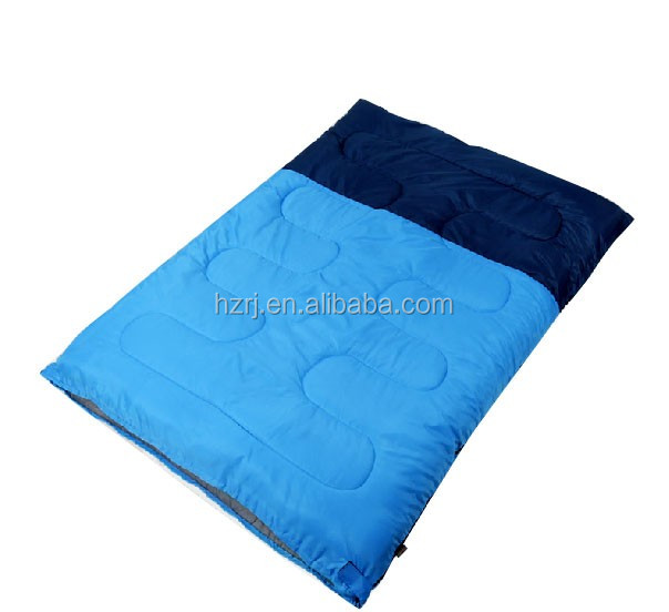 Camping/Outdoor/Waterproof Double Person Polyester Sleeping Bag