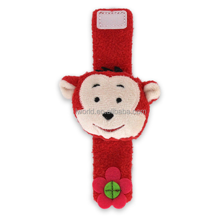 Assorted design colorful Baby monkey toy pacify happy plush toys