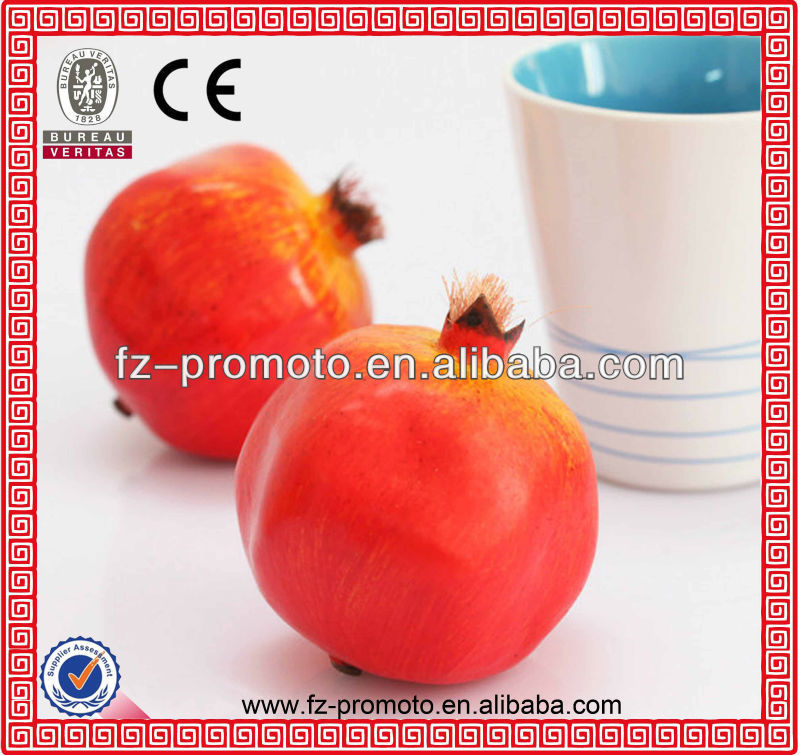 fake pomegranate plastic fruit artificial fruit