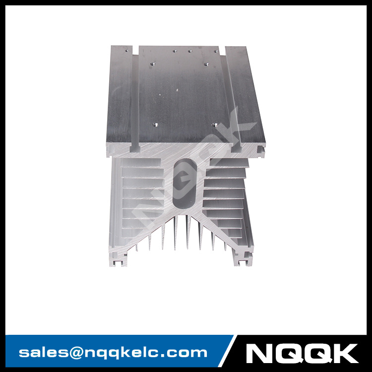 Aluminum Profiles MTCIGBT Module High Power Combination Y Type 150 * 125 * 135 Three Phase Solid State Relay Heat Sink