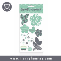 Customized Scrapbook Paper Flower Designs