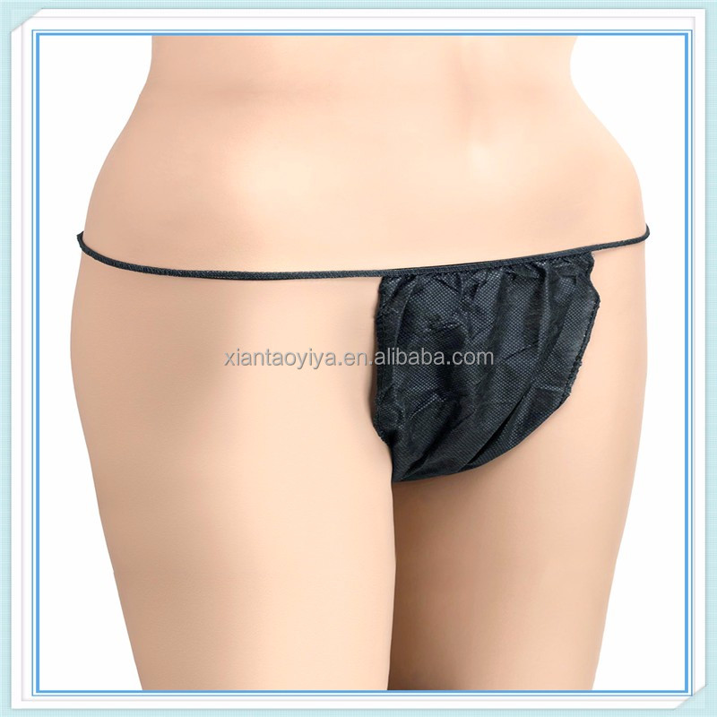 SEXY! SEXY! SEXY! disposable beauty tanga pants only for women