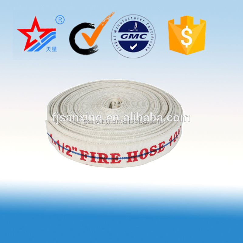8 bar 2 inch PVC fire <strong>hose</strong> for used fire fighting equipments