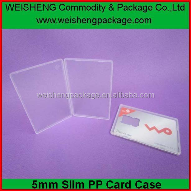 pp/ps bussiness card case/card holder