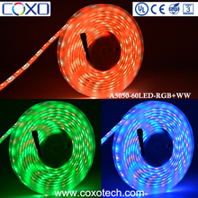 New 12V SMD 5050 RGB WW Silicone Tube Resin Waterproof IP68 Led Light Strip