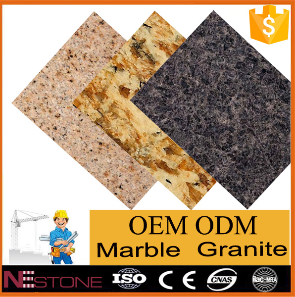 Chinese cheap price black granite tile