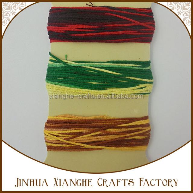Wholesale Multicolor Cotton Thread Cotton Craft