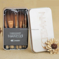 Recommend 12 pcs synthetic hair toothbrush face makeup brush set with box foundation contour cosmetics brush