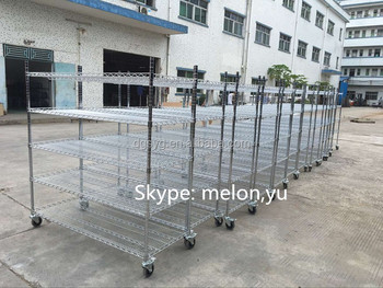 Factory Direct Sales Chrome Wire Shelving & Chrome Wire Rack-13 years professional manufacturer&Very Competitive Price
