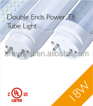 Motion sensor 4ft 18W LED T8 Tube with UL cUL DLC certification