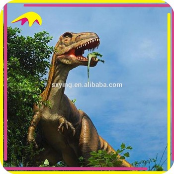 KANO1176 Amusement Park aint Funny Battery Operated Moving Dinosaur Animations