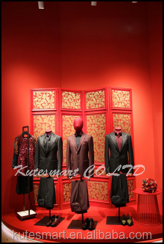 2017 hand made tailor-made suits for wedding formals redcollar/kutesmart