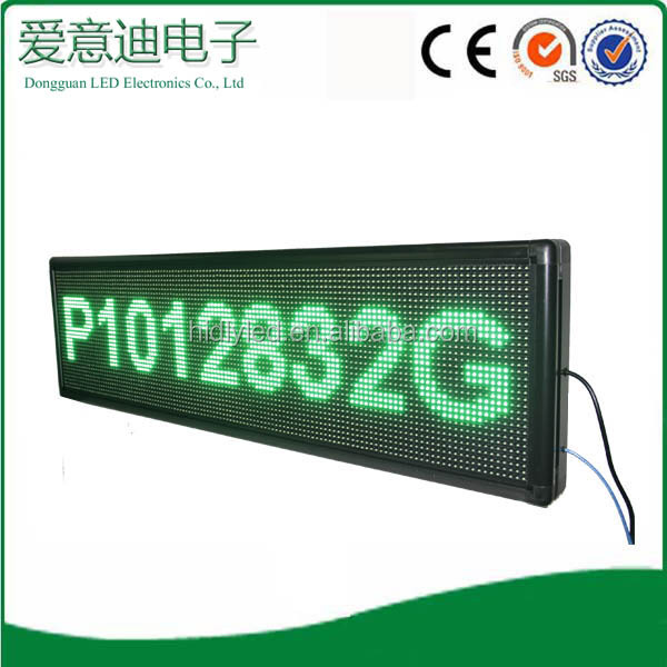 Dongguan aliexpress led scrolling sign,big board advertising led display