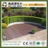 Outside rot Resistance Wood Plastic Composite Bamboo Decking eco-friendly wpc decking